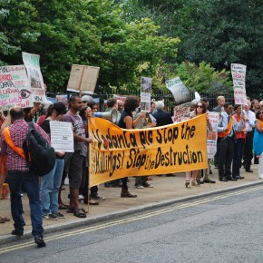 PROTESTS RAIL AGAINST VEDANTA'S AGM IN LONDON, INDIA AND ZAMBIA