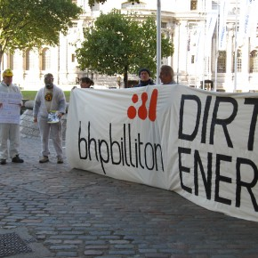 BHP Billiton: squeaky clean image, filthy dirty energy