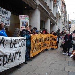 Protesters mob Vedanta HQ as verdict deferred again