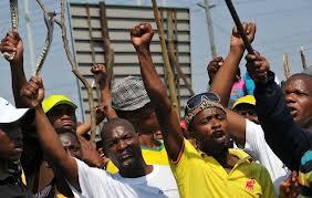 SA strike