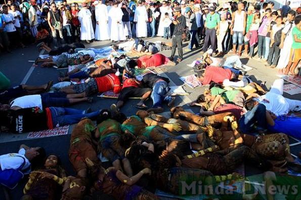 Lie_down_protest_Surigao_City_Philippines