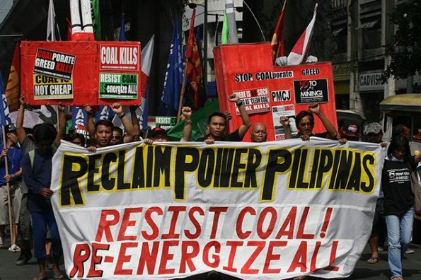 Philippine_reclaim_coal_power_march