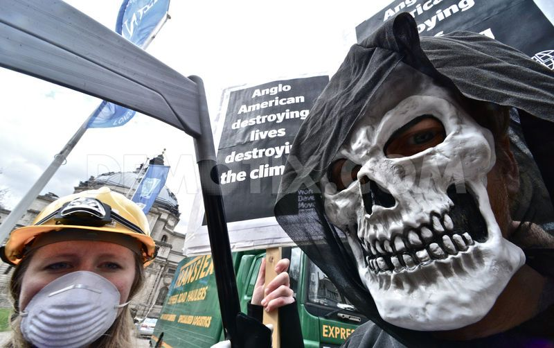 Protesters to challenge Anglo American's greenwashing tactics at AGM