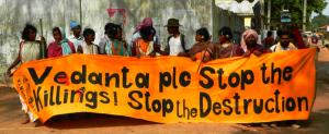 Foil Vedanta at protest in Odisha May 2013