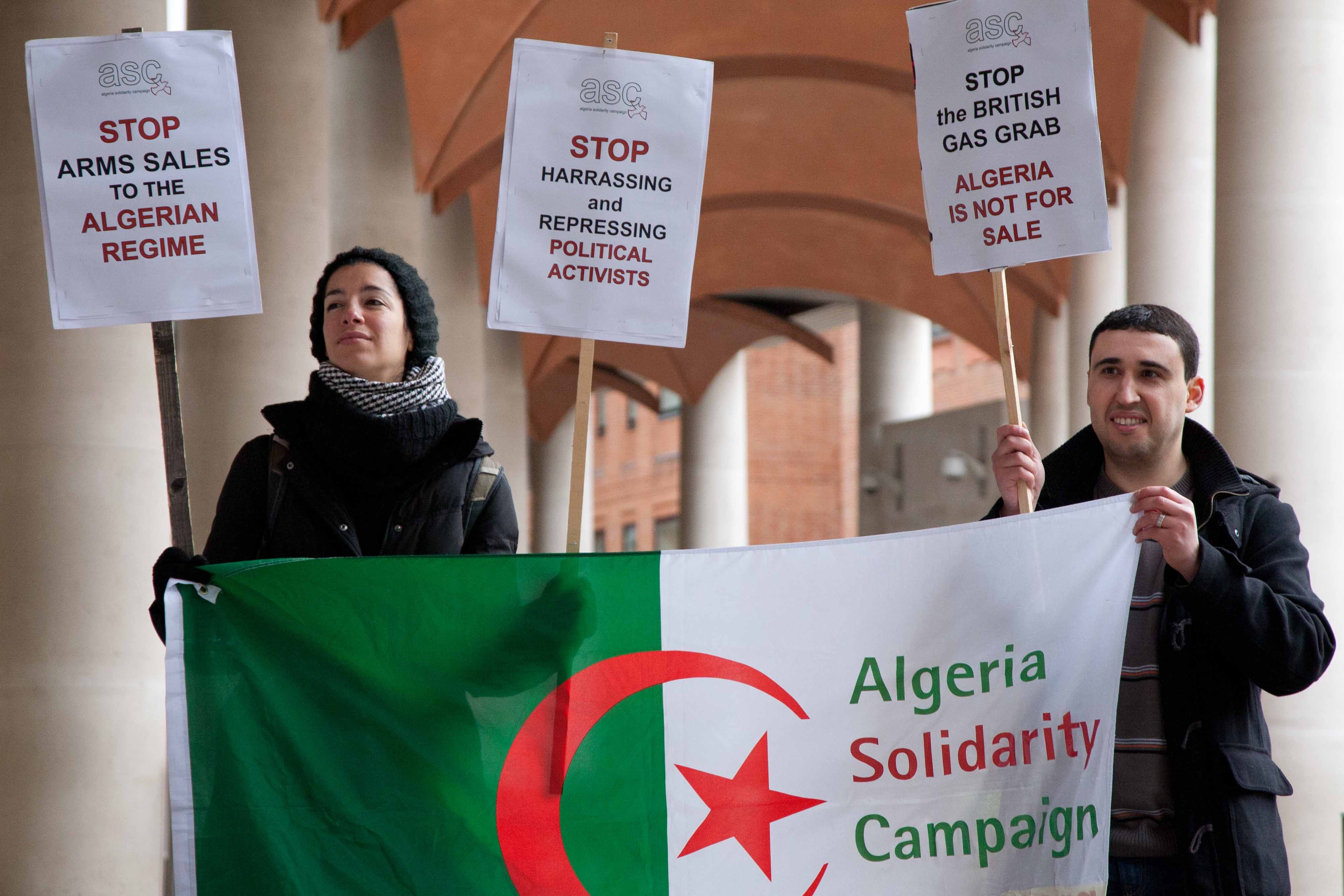 BHP Billiton and the Algerian Regime