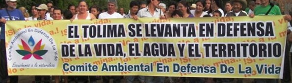 Tolima protest