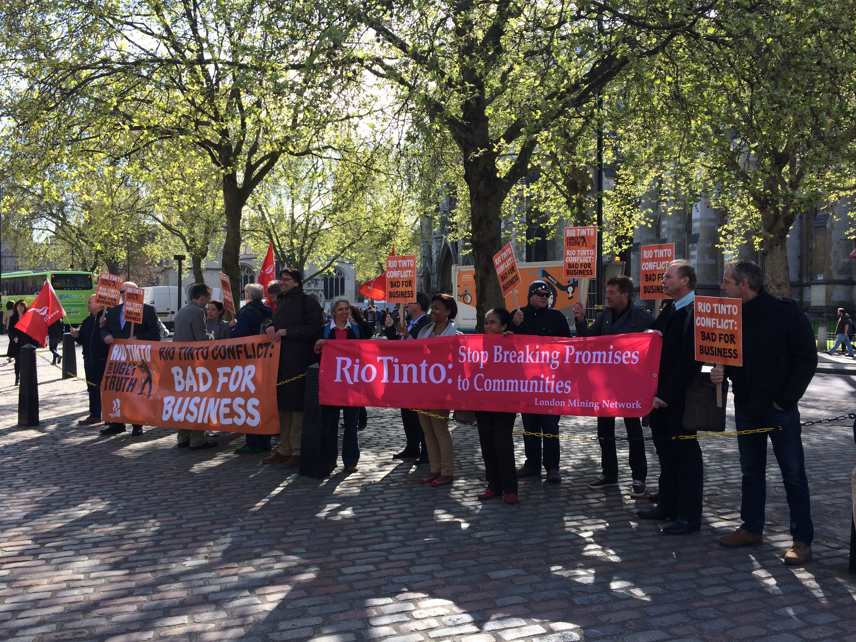Rio Tinto AGM 2014: thanks, and no thanks
