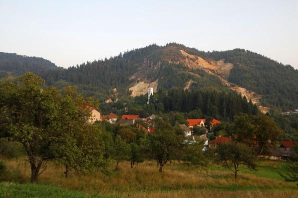 view of Rosia Montana