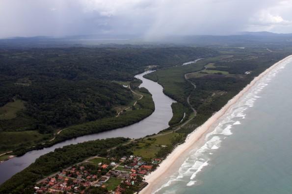 Porto Sul aerial photo