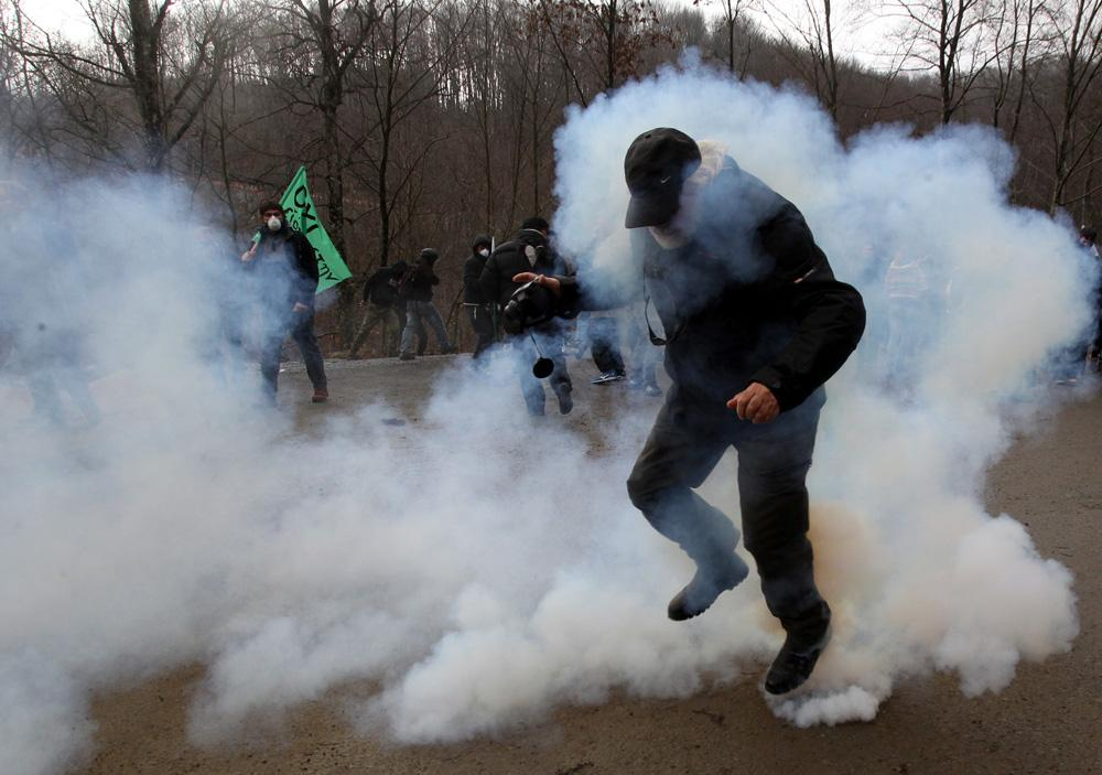 Dramatic news from Skouries in Greece
