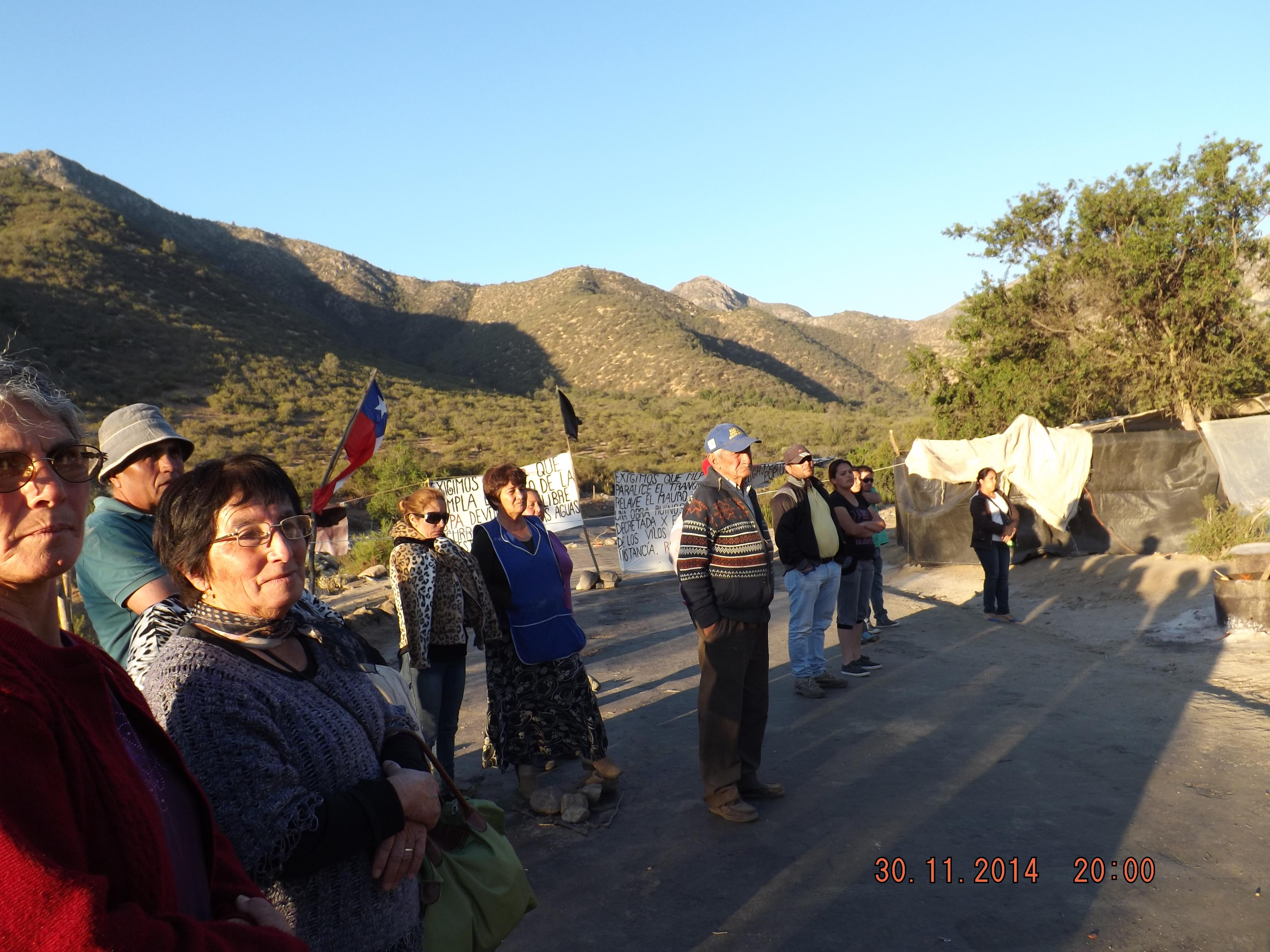 Community rises against Antofagasta in Chile