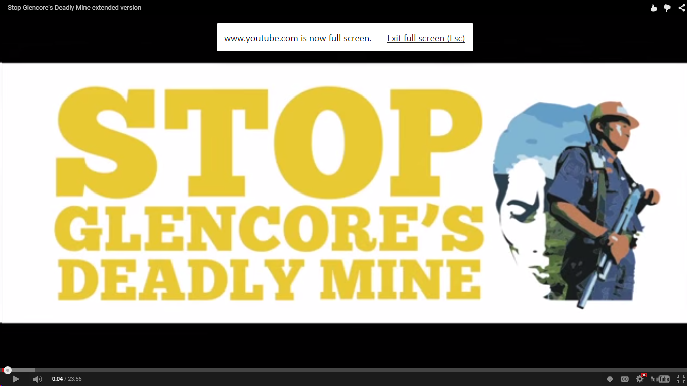 New film on the Tampakan mine: Stop Glencore's deadly mine