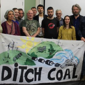 London meeting at the Ditch Coal tour w/ Coal Action Network in June 2016
