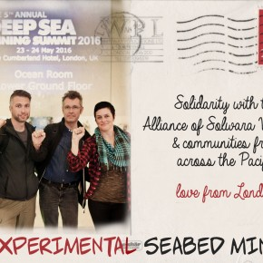 Seabed Mining Solidarity Postcard May 2016