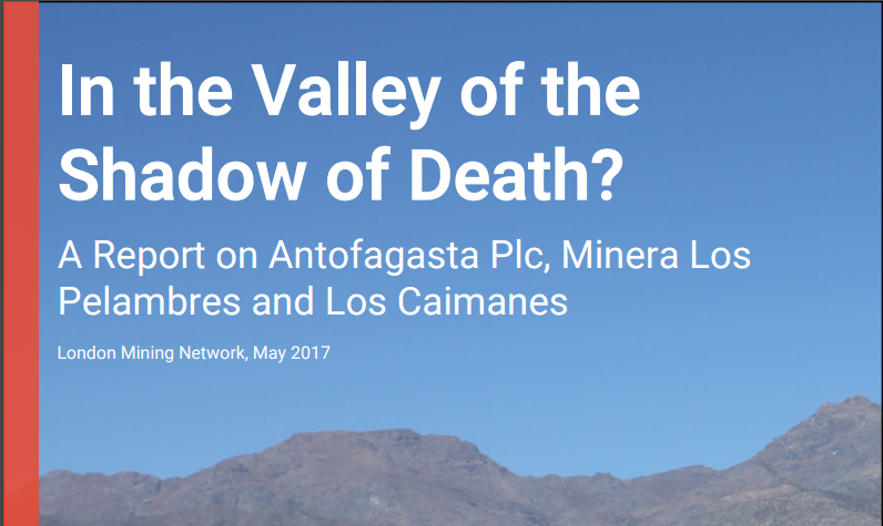 NEW REPORT on Antofagasta in Chile launched