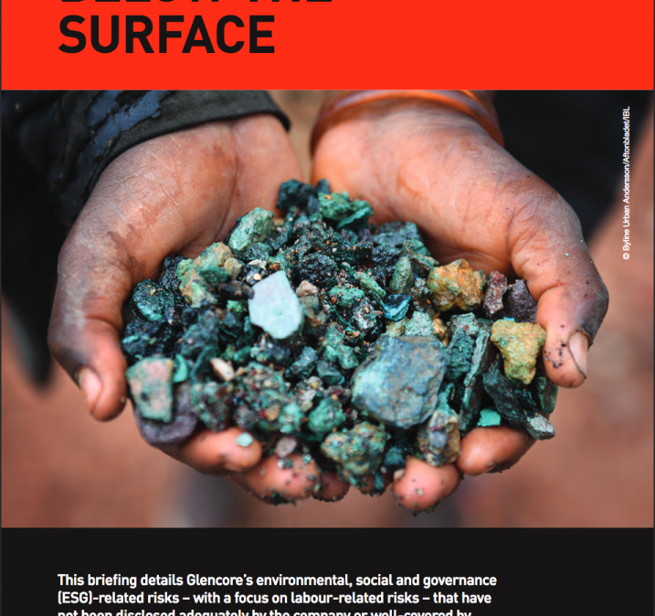 Glencore, below the surface