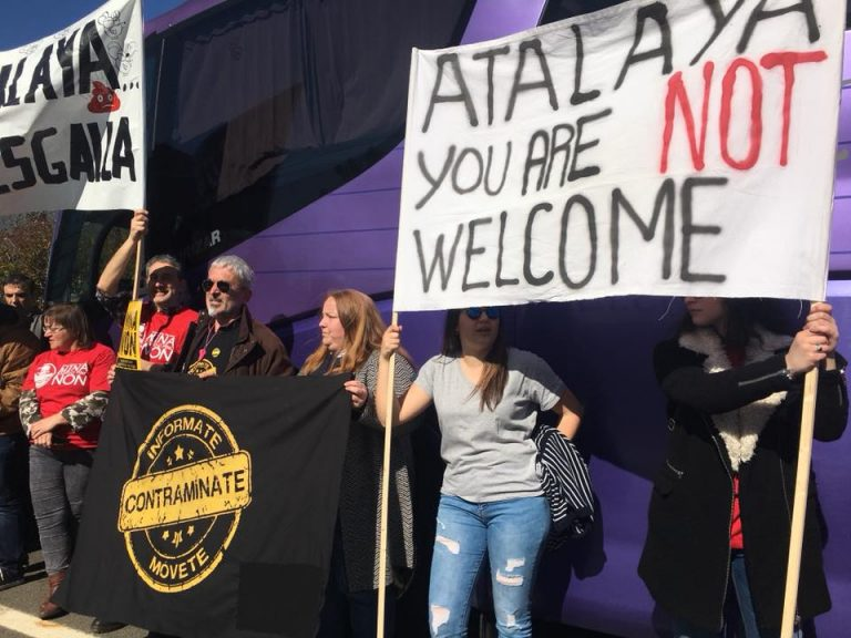 Campaigners tell Atalaya 'no social license for mine'