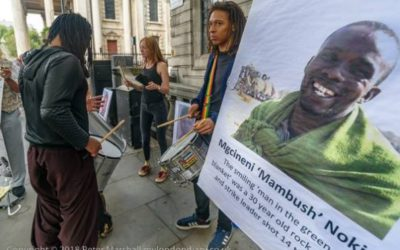 Solidarity vigil marking Marikana 7th anniversary