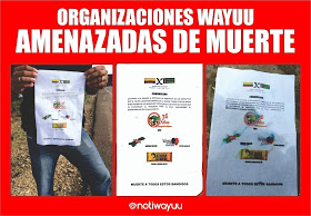 New death threats against Wayuu Women's Force