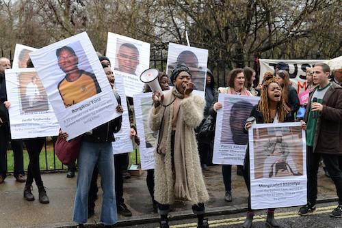 Press release: Demonstration outside Lonmin AGM