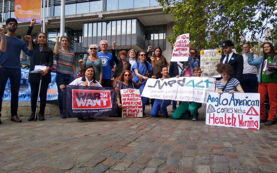 AGM activists take on Anglo American