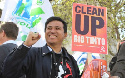 Resisting Rio Tinto: clean up your mess!