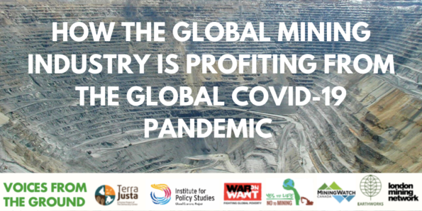 How the global mining industry is profiting from the global COVID-19 Pandemic