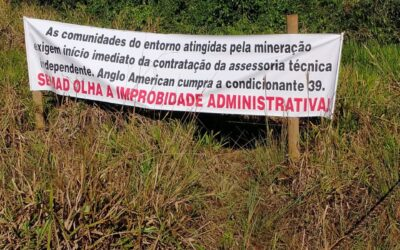 Legal struggle with Anglo American hots up in Brazil