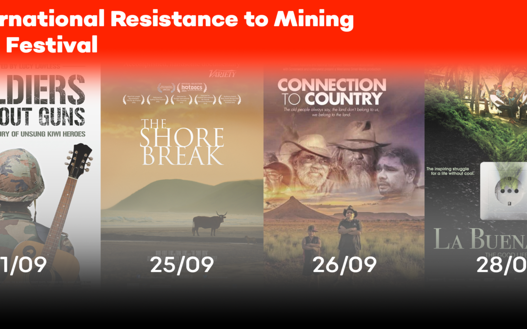 International Resistance to Mining Film Festival