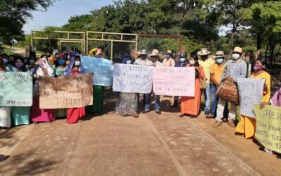 Indigenous people in Provincial, Colombia, ban Cerrejon Coal personnel from entering their community