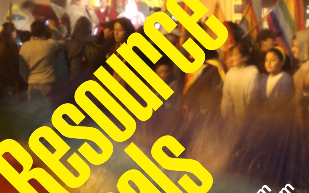 Recording: Resisting Mining Book Club, Resource Radicals