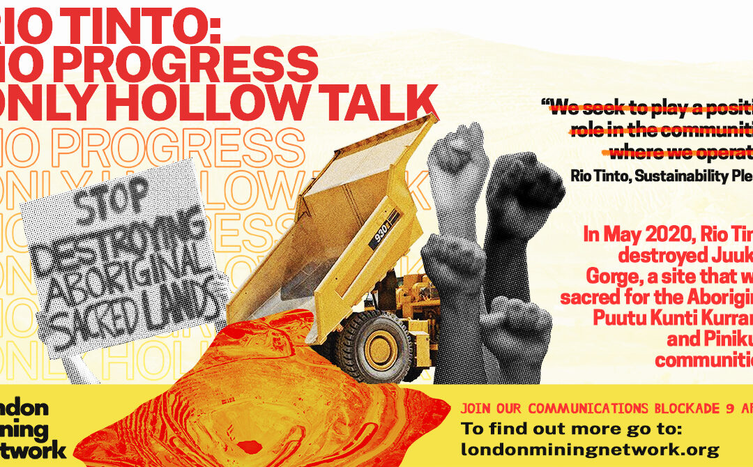 Rio Tinto: No Progress, Only Hollow Talk